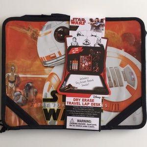 NEW Star Wars Dry Erase Travel Lap Desk Art